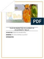 Plan de Marketing de Almibar de Aguaymanto
