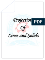 Projection of Lines and Solids