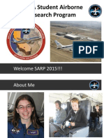 NASA Student Airborne Research Program Introduction