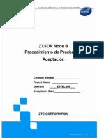 ZXSDR NodeB Acceptance Test Procedure Rev.D (Span)