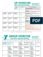 Tazewell July 2015 Group Exercise