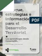 Enfoque, estrategias e información para el Desarrollo Territorial