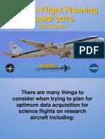 SARP 2015 Flight Planning