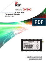 GV300 @Track Air Interface Firmware Update V1.00