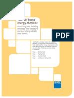 advanced technology - agl diy home audit checklist (2015 5 27)