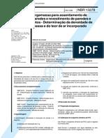 NBR 13278 - 1995 - Argamassa Para Assentamento de Paredes e Revestimento de Paredes e Tetos