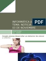 Dia 03 de Nov Noticia - Silvana Pacheco