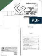 PROJET ET CONSTRUCTION DES PONTS, 2E ÉDITION. GÉNÉRALITÉS, FONDATIONS, APPUIS, OUVRAGES, OUVRAGES COURANTS.pdf