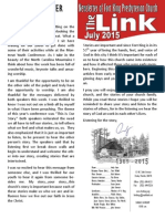 July 2015 LINK Newsletter