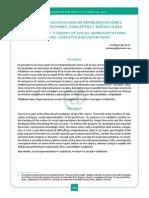 Lobato, Antonio _ La Teoria de Las Representaciones Sociales _ Nociones, Conceptos y Definiciones
