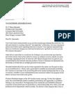 Letter to President Alexander - Teresa Buchanan 6 30 2015