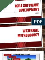 Agile vs Waterfall Pm 1