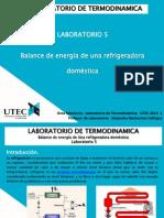 Laboratorio 5 PP Termodinamica 27.05.2014