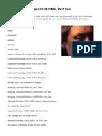 Eadweard Muybridge (1830-1904), Part Two