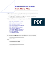 NAG 5 Health and Safety Policy