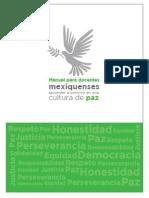 Manual Cultura de Paz