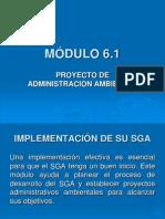 Programa de Administración ISO 14001
