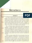 ARISTÓTELES. Metafísica. Capítulos 1 a 4[1]