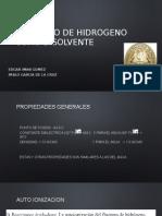 Fluoruro de Hidrogeno Como Disolvente