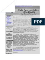 House District 7 July Newsletter