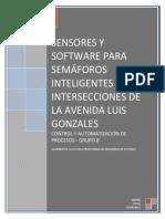Sensores y Software Para Semaforo Inteligentes