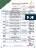 006. Cronograma de Actividades -Junio - 2015
