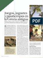 6-Juegos, Juguetes y Pasatiempos en La Grecia Antigua