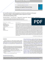 Sex-specific Patterns and Deregulation of Endocrine Pathways in the Gene Expression Profiles of Bangladeshi Adults Exposed to Arsenic Contaminated Drinking Water.