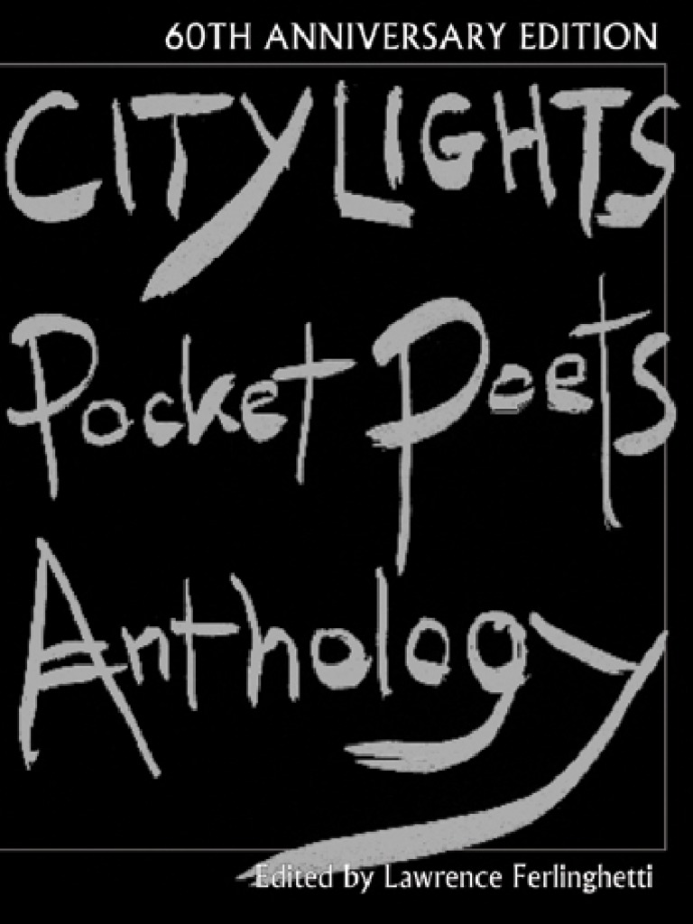 Selected Poems of Malcolm Lowry City Lights Pocket Poets Number 17