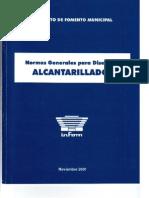 Normas generales para Diseño de Alcantarillados.pdf