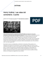 Henry Kuttner Las Ratas Del Cementerio