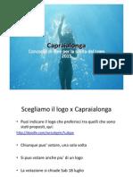 Capraialonga - Scelta Logo