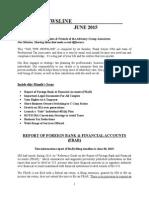 Tax Tips Newsline - June 2015
