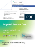 ENR EHP Edgewell Investor Day 2015 Full Mtg FINAL