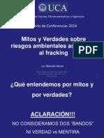 PRESENTACION de Mitos y Verdades Fracking Sticco 04-2014 Rev03