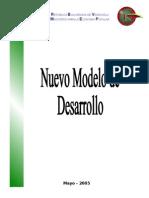 Nuevo Modelo de Desarrollo 1
