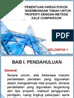 Nilai Property Metode Sale Comparison
