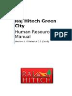 Sample HR Manual