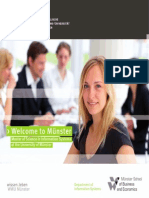 Master of Science in Information Systems at the University of Münster