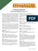 m2010167a Livre de Règles Warhammer v1(9).7 - Janvier 2013