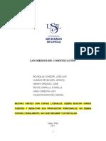 Monografia-Los Medios de Comunicacion - IsMINIO
