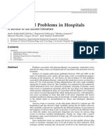Drug-Related Problems in Hospitals
