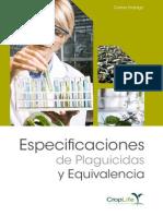 Especificaciones de Plaguicidas y Equivalencia
