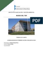 Museo Del TER - La Musealización Del Patrimonio Cultural Vinculado Al Agua