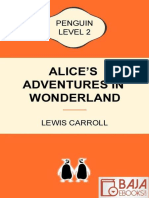 Alice's Adventures in Wonderlan - Lewis Carroll