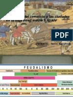 3. Clase Renacer Del Comercio y La Ciudad Baja Edad Media
