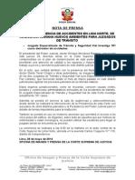 28 - 5 Inauguración - Corte de Lima Norte