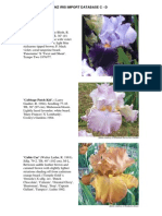 nz iris import database c-d