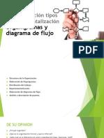 Tipos de Organizaciones, Departa, Organigrama y El MOF