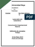 Tarea 1 Comunicacion Organizacional